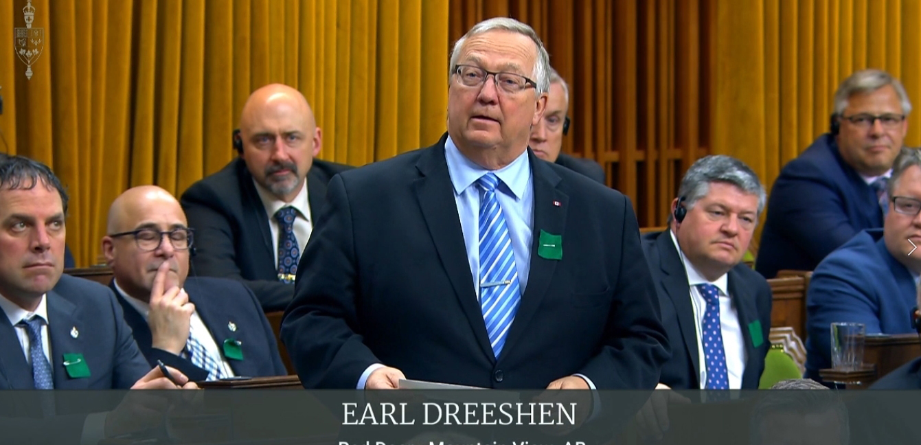 Earl Questions PM on Anti Energy Policies and their Effects on Red Deer