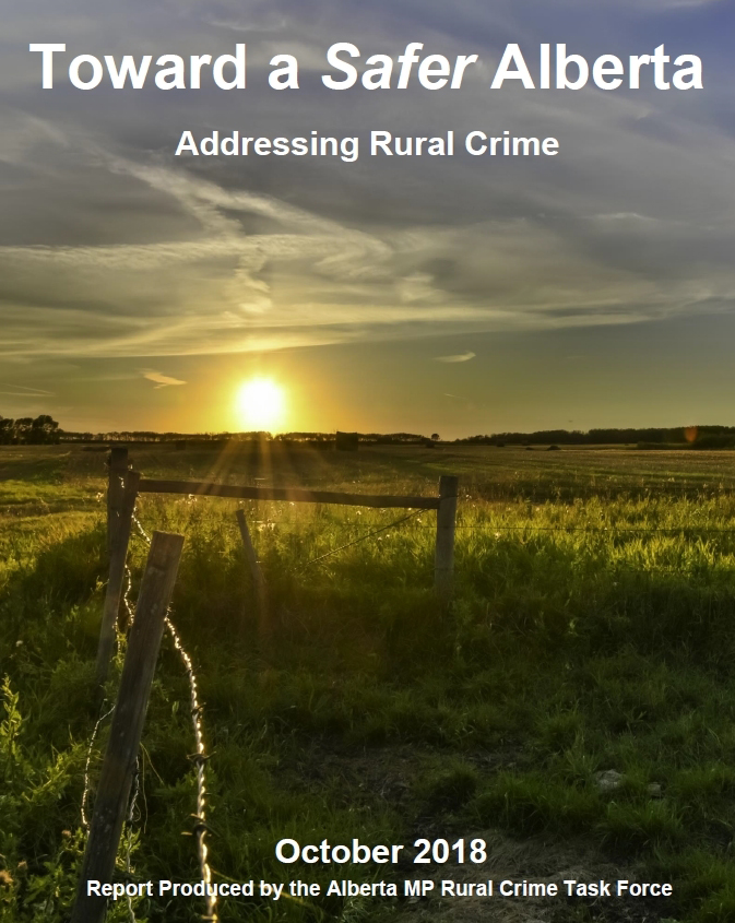 Alberta Caucus Rural Crime Task Force Report