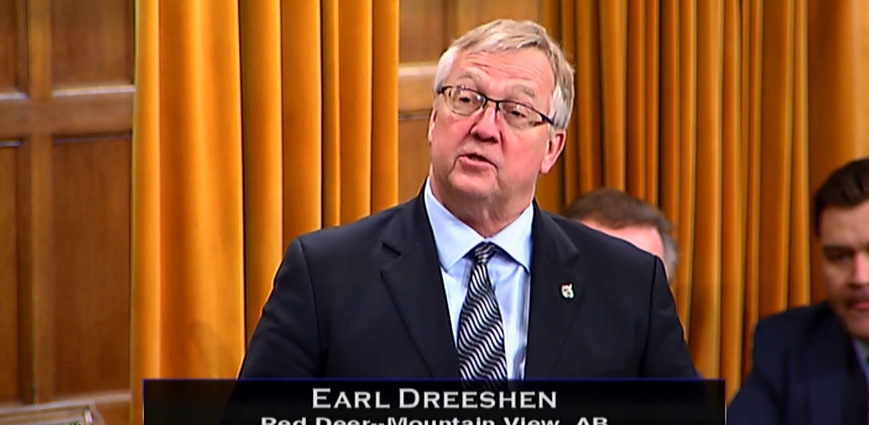 MP Dreeshen Honours Ray Reckseidler